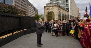 Визит П.О. Порошенко в США начался со встречи с украинской диаспорой