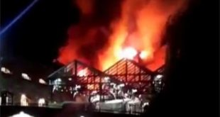 Camden Lock Market fire: Seventy firefighters at blaze