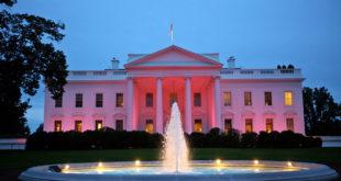 Белый дом сменил цвет
