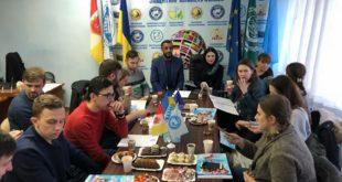 Дружественная встреча польских студентов в офисе Международной организации «Щит»