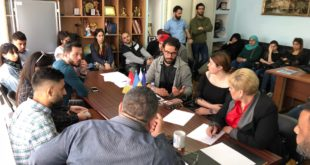 Международный конгресс «ЩИТ» провел круглый стол  с студентами Медицинского Национального университета по решению проблемных вопросов «КРОК»