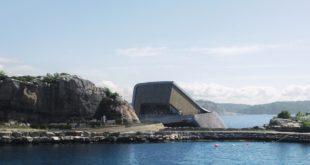 Первый в мире подводный ресторан откроется в Норвегии