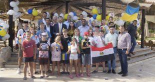 Отдых детей переселенцев в Шарм Ель-Шейх