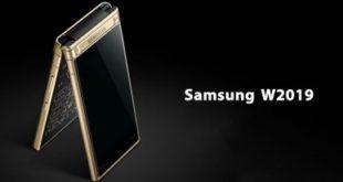 Samsung  представит складной телефон W2019 с двумя экранами