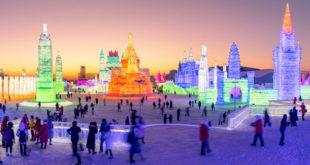 В Китае стартует крупнейший в мире 35-й фестиваль льда и снега