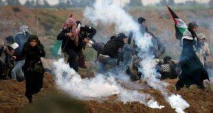 تقرير منظمة الدرع العالمية بشأن جرائم القوات الإسرائيلية بحق متظاهري مسيرات العودة في قطاع غزة.