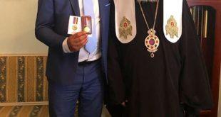 Святейший Патриарх Филарет наградил Дагер Салеха Мухамеда медаль за «Жертвенность и любовь к Украине»