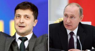 بوتين وزيلينسكي يجريان أول محادثات بينهما ويتفقان على مواصلة جهود إطلاق المحتجزين