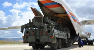 """طائرة شحن روسية خامسة تحمل أجزاء من منظومة """"إس-400"""" تصل إلى تركيا"""