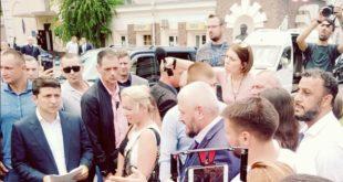 الرئيس الاوكراني فلاديمير زيلينسكي يضع اختيار حاكم اوديسا عبر القرعة