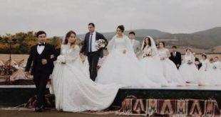 """حفل زفاف في داغستان يدخل موسوعة """"غينيس"""" للأرقام القياسية"""