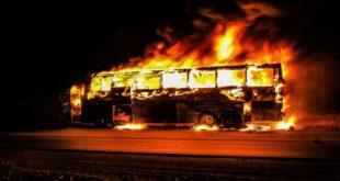 منظمة الدرع العالمية في اوكرانيا تعزي بضحايا حريق حافلة المعتمرين غرب المملكة العربية السعودية