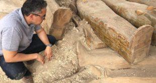 بالصور .. اكتشاف أثري ضخم بالقرب من مدينة الأقصر في مصر