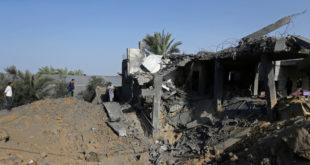 ارتفاع عدد ضحايا الغارات الإسرائيلية على غزة إلى 34 شهيدا و111 جريحا