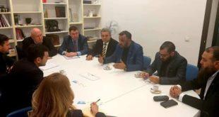 اجتماع عمل بين رئيس وزراء جمهورية مولدافيا و رئيس منظمة الدرع العالمية