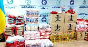 منظمة الدرع العالمية في أوكرانيا توزع المعونات الغذأئية العينية في ظل تفشي فيورس كورونا في العالم