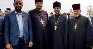 منظمة الدرع العالمية في اوكرانيا تهنئ  المسيحيين كافة بمناسبة عيد الفصح