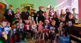 Международная Организация «Щит» поздравила детей-переселенцев, с Новым годом