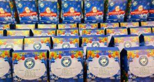 подарки для детей на кануни Нового года от Международного конгресса по защите прав и свобод граждан «Щит»