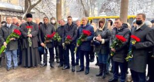 В Одессе отметили День памяти Героев Крут