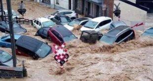 في أسبوع وللمرة الثانية .. الفيضانات المدمرة تجتاح بلجيكا