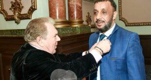 Saleh Daher es miembro del Club Diplomático de Odessa