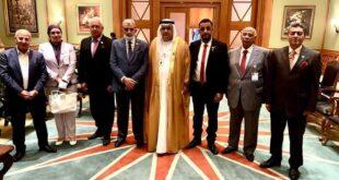 الدكتور صالح ظاهر يشارك في مؤتمر العمل العربي الدورة 47 لجامعة الدول العربية