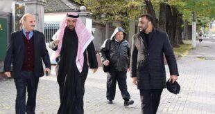 Дагер Салех Мухамед принял гостей Арабского союза инвестиций и развития недвижимости ОАЭ.