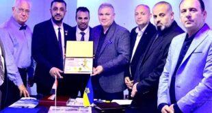 В Египет Дагер Салеху вручили памятный Диплом за вклад в развитие спорта.
